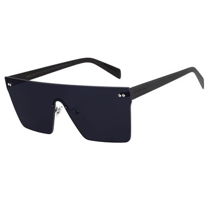 Óculos de Sol Unissex Matheus Mazzafera Quadrado Preto  OC.MT.2487-1501