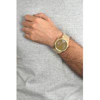 Relógio Digital Masculino Chilli Beans Caveira Dourado RE.MT.0666-2121.4