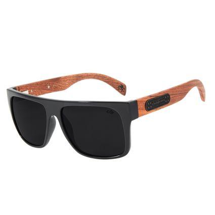 Óculos De Sol Masculino Charlie Brown Jr Sk8 Preto Brilho OC.CL.2823-0130