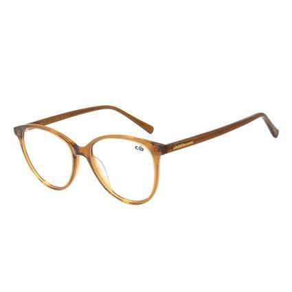 Armação Para Óculos de Grau Feminino Chilli Beans Gatinho Marrom LV.AC.0647-0202