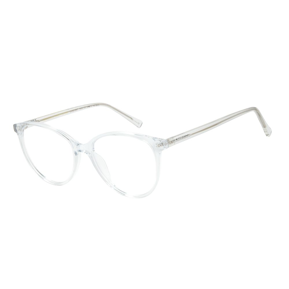 Armação Para Óculos de Grau Feminino Chilli Beans Gatinho Transparente LV.AC.0647-3636