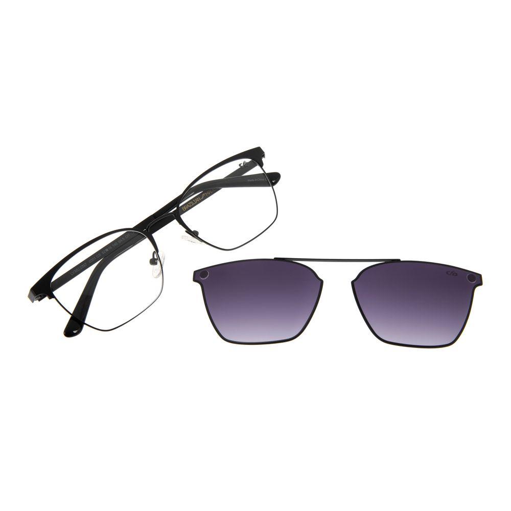 Armação para Óculos de Feminino Chilli Beans Multi Quadrado Metal Preto LV.MU.0397-2001