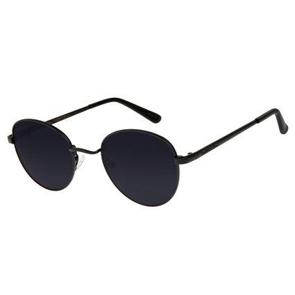 Óculos de Sol Unissex Chilli Beans Essential Redondo Metal Fosco OC.MT.2517-0131