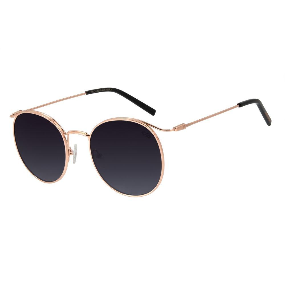 Óculos de Sol Feminino Chilli Beans Redondo Metal Rosê OC.MT.2871-2095