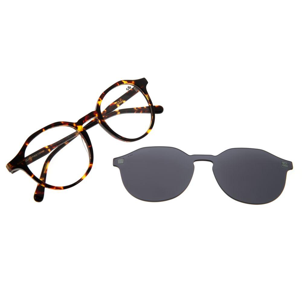 Armação para Óculos de Grau Chilli Beans Masculino Multi Redondo Tartaruga LV.MU.0376-0506