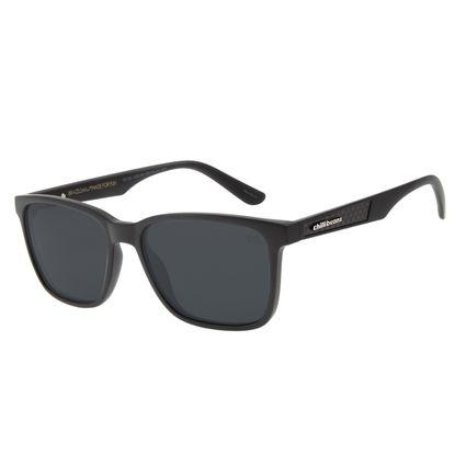 Óculos de Sol Masculino Chilli Beans Esportivo Preto Polarizado OC.ES.1220-0501