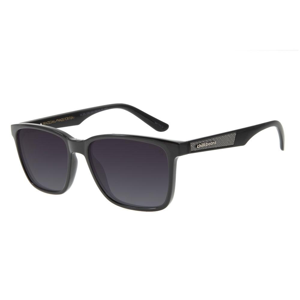 Óculos de Sol Masculino Chilli Beans Esportivo Degradê Polarizado OC.ES.1220-2001