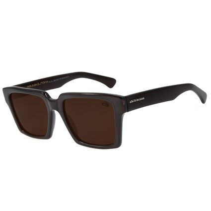 Óculos De Sol Unissex Chilli Beans Surf Quadrado Marrom OC.CL.2323-0217