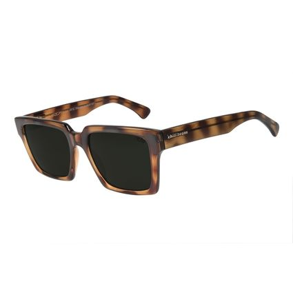Óculos De Sol Unissex Chilli Beans Surf Quadrado Tartaruga OC.CL.2323-1506