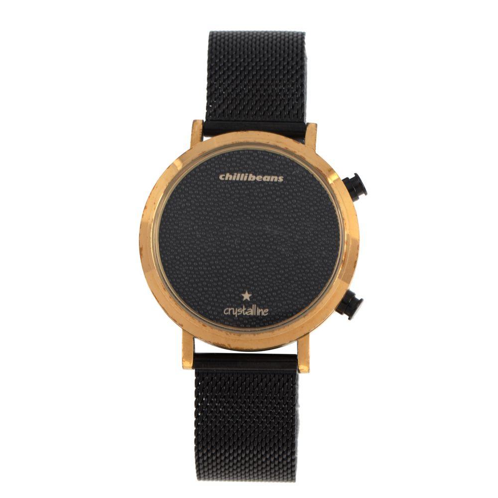 Relógio Digital Feminino Chilli Beans Cristalline Preto RE.MT.0984-0101