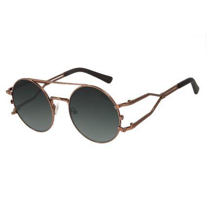 Óculos de Sol Unissex Alok Haste Dupla Marrom OC.MT.2894-8202