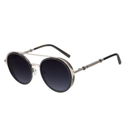 Óculos de Sol Feminino Alok Circle Redondo Cinza OC.CL.3059-2004