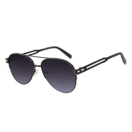 Óculos de Sol Unissex Alok Sunset Aviador Preto OC.MT.2893-2001