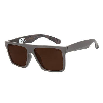 Óculos de Sol Masculino Alexandre Herchcovitch Flechas Bossa Nova Marrom OC.CL.3030-0202