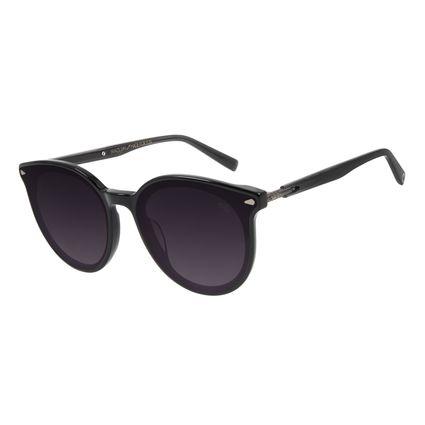 Óculos de Sol Feminino Alexandre Herchcovitch Flecha Redondo Degradê OC.CL.3039-2030
