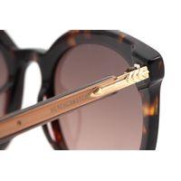 Óculos de Sol Feminino Alexandre Herchcovitch Flecha Redondo Tartaruga OC.CL.3039-5706.7