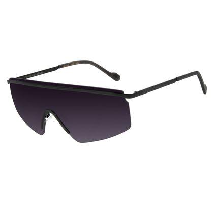 Óculos de Sol Feminino Alexandre Herchcovitch Máscara Preto OC.MT.2873-2001