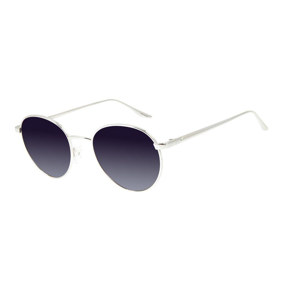 Óculos de Sol Feminino Alexandre Herchcovitch Angelicais Banhado A Ouro Prata .MT.2874-2007