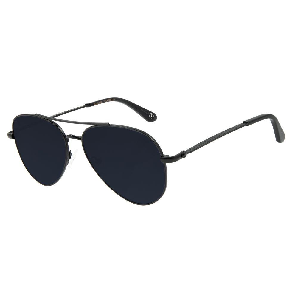 Óculos de Sol Unissex Alexandre Herchcovitch Aviador Preto OC.MT.2875-0501