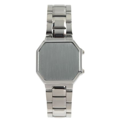 Relógio Digital Masculino Alexandre Herchcovitch Dante Prata RE.MT.0999-0707