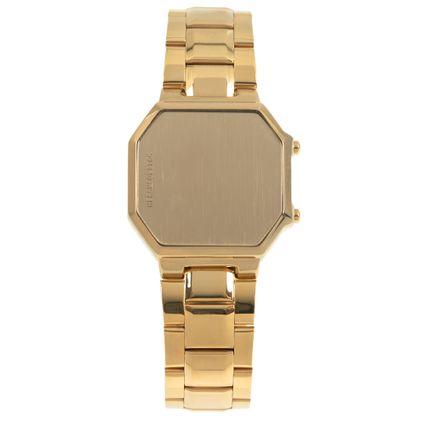 Relógio Digital Unissex Alexandre Herchcovitch Dante Dourado RE.MT.0999-2121