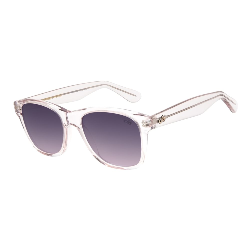 Óculos de Sol Unissex Chilli Beans Bossa Nova Essencial Transparente .CL.1549-2036
