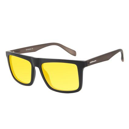 Óculos de Sol Masculino Chilli Beans Night Vision Bossa Nova Amarelo OC.CL.3027-0901