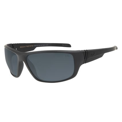 Óculos de Sol Masculino Chilli Beans Esportivo Fosco Polarizado .ES.1113-0531