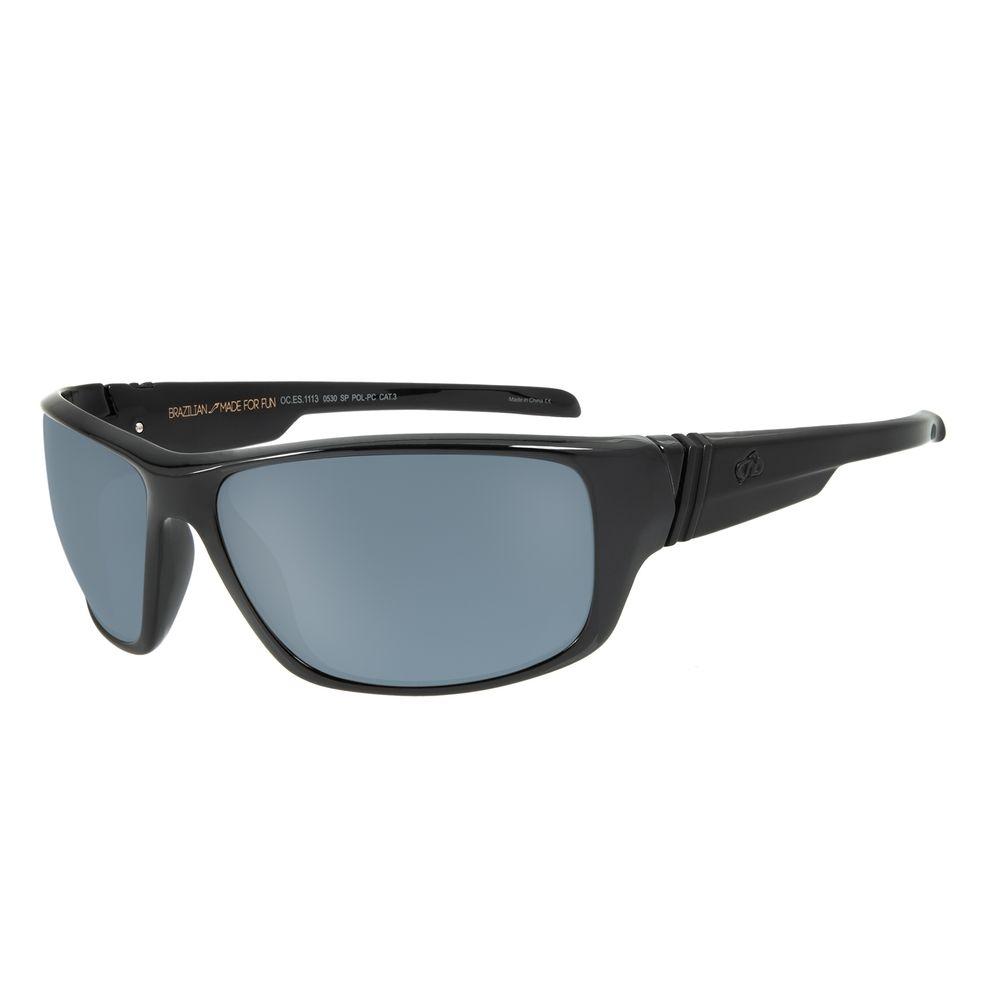 Óculos de Sol Masculino Chilli Beans Esportivo Brilho Polarizado .ES.1113-0530