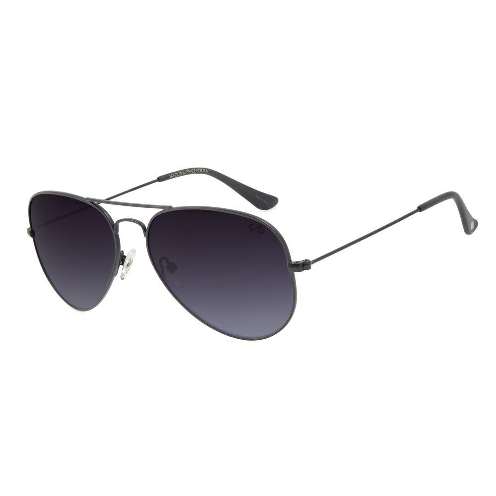 Óculos de Sol Unissex Chilli Beans Aviador Essential Fosco OC.MT.2513-2031
