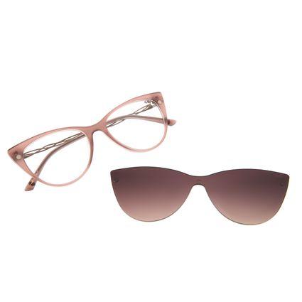 Armação Para Óculos de Grau Feminino Chilli Beans Multi Gatinho Bege LV.MU.0364-5723