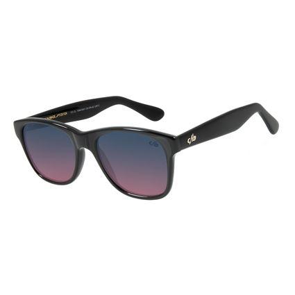 Óculos de Sol Unissex Chilli Beans Bossa Nova Essencial Degradê Azul OC.CL.1549-8301