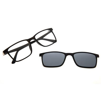 Armação Para Óculos De Grau Masculino Chilli Beans Multi Preto LV.MU.0074-0001