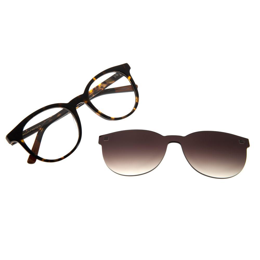 Armação Para Óculos de Grau Feminino Chilli Beans Multi Redondo Tartaruga LV.MU.0408-5706
