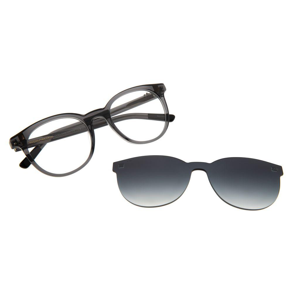 Armação Para Óculos de Grau Feminino Chilli Beans Multi Redondo Preto LV.MU.0408-2001