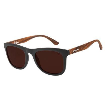 Óculos de Sol Masculino The Beatles Bossa Nova Marrom OC.CL.3099-0202