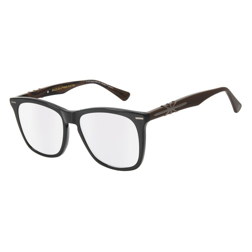 Óculos de Sol Masculino The Beatles Bossa Nova Fumê OC.CL.3102-0501