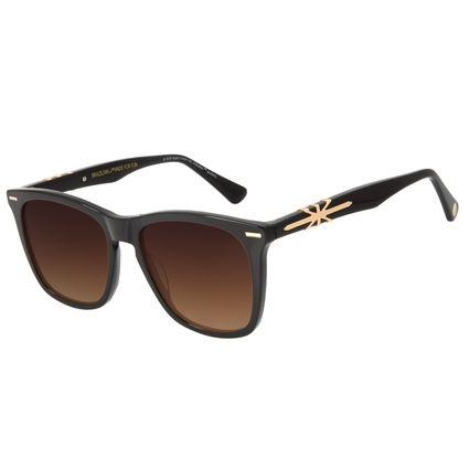 Óculos de Sol Masculino The Beatles Bossa Nova Marrom OC.CL.3102-5702