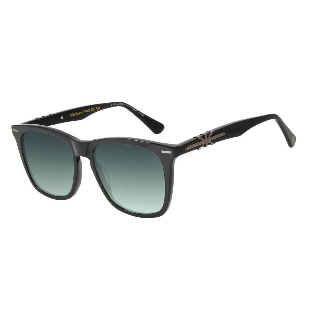 Óculos de Sol Masculino The Beatles Bossa Nova Degradê Verde OC.CL.3102-8201