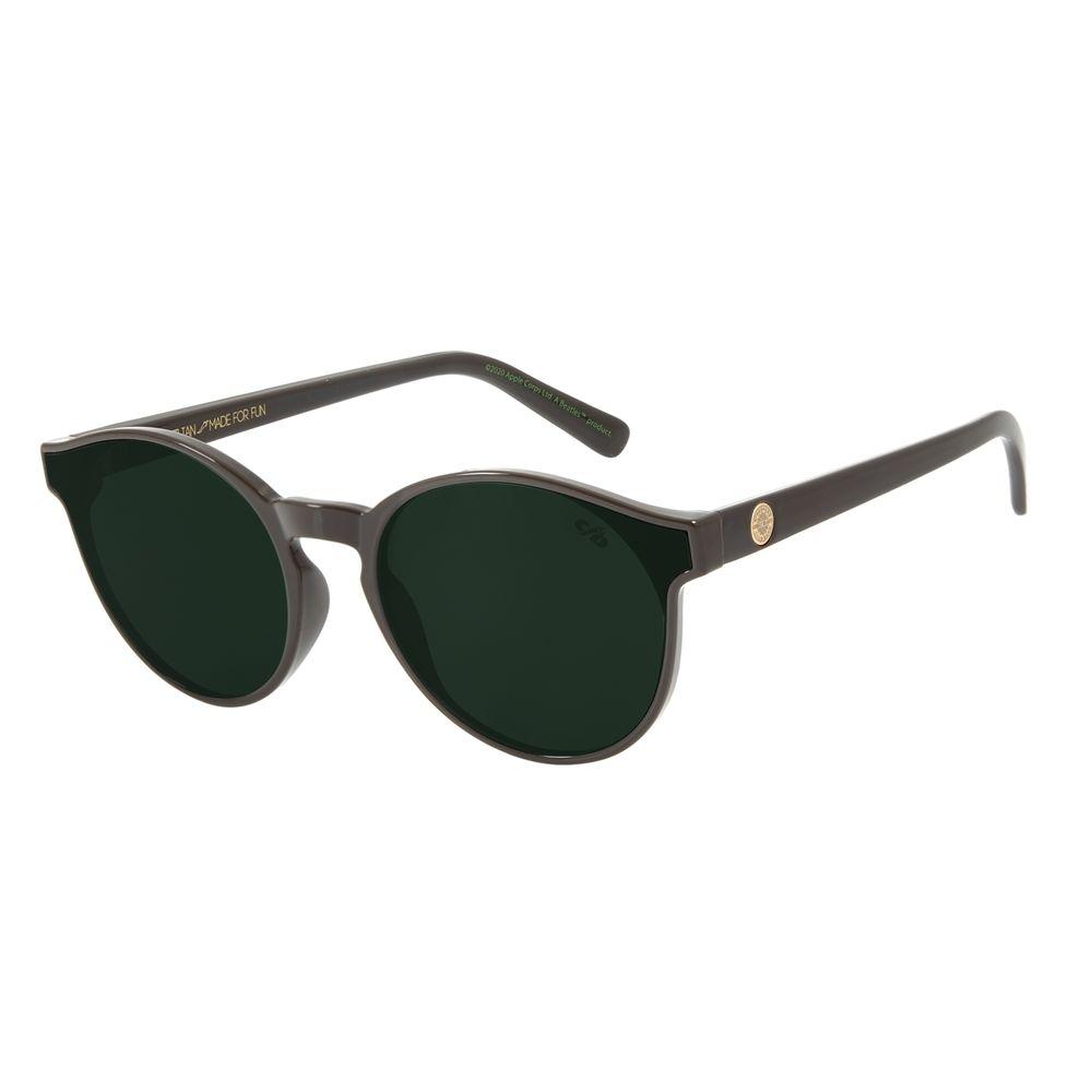 Óculos de Sol Unissex The Beatles Redondo Sgt. Pepper Marrom OC.CL.3106-1502