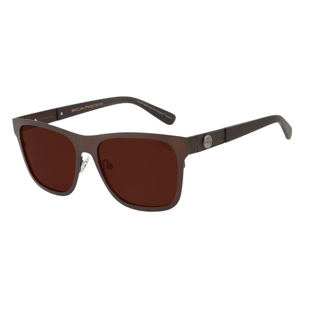Óculos de Sol Unissex The Beatles Love me do Quadrado Marrom OC.MT.2927-0202