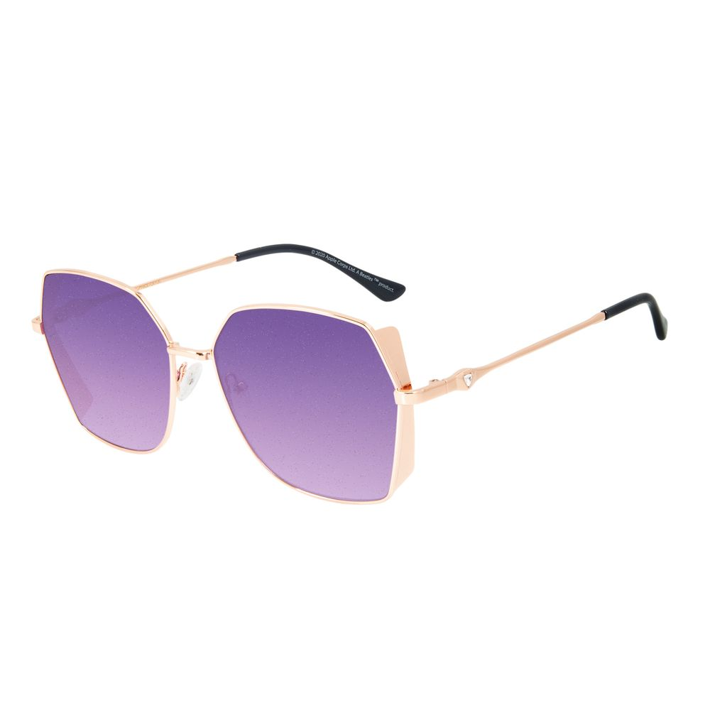 Óculos de Sol Feminino The Beatles Quadrado Diamonds Degradê OC.MT.2929-2095