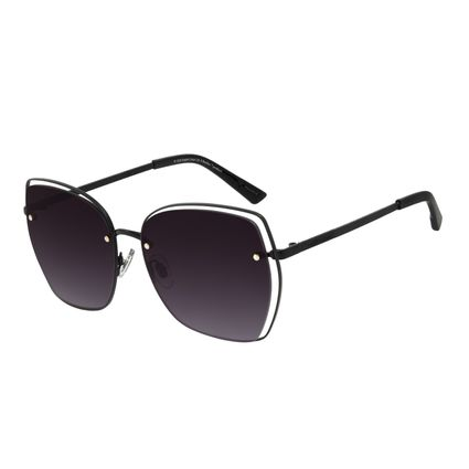 Óculos de Sol Feminino The Beatles Black Bird Maxi Preto OC.MT.2934-2001