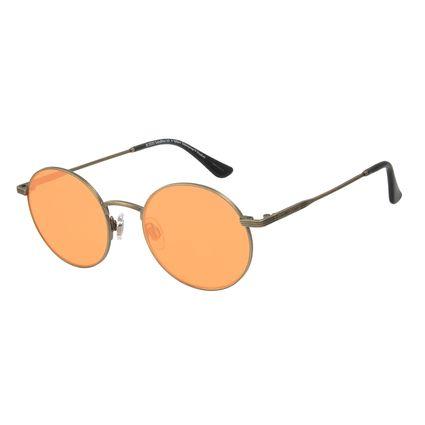 Óculos de Sol Unissex The Beatles Yellow Submarine Redondo Amarelo OC.MT.2936-0967