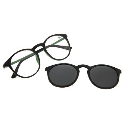 Armação Para Óculos de Grau Unissex Chilli Beans Multi Polarizado Preto LV.MU.0396-0401