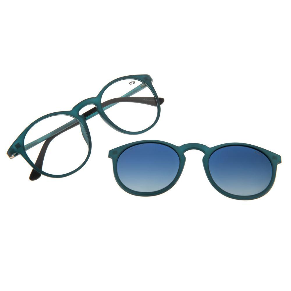 Armação Para Óculos de Grau Unissex Chilli Beans Multi Polarizado Azul LV.MU.0396-8308