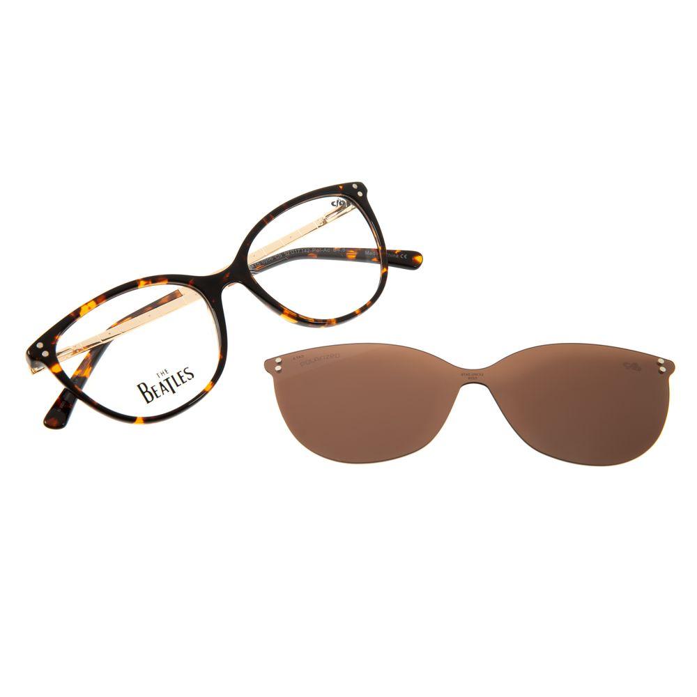 Armação Para Óculos de Grau Feminino The Beatles Höfner Multi Tartaruga LV.MU.0475-0206