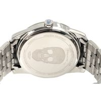 Relógio Analógico Masculino Alexandre Herchcovitch Caveira Metal Prata RE.MT.0989-0707.6