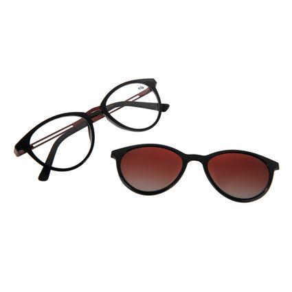 Armação Para Óculos de Grau Feminino Chilli Beans Multi Preto Polarizado LV.MU.0167-2001