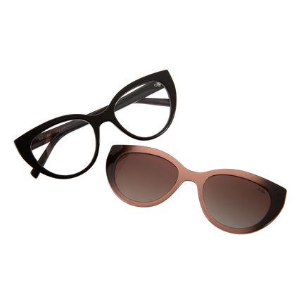 Armação Para Óculos de Grau Feminino Chilli Beans Multi Polarizado Marrom LV.MU.0228-2002